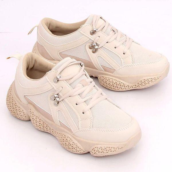 Buty sportowe beżowe BD 5 Beige r.36