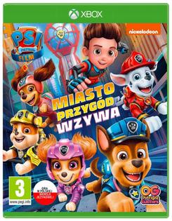 PSI PATROL MIASTO PRZYGÓD WZYWA PL NOWA Xbox One
