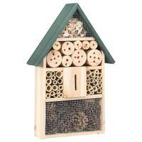 Lumarko Domek dla owadów, 31x10x48 cm, drewno jodłowe