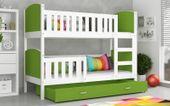 Łóżko piętrowe TAMI COLOR 190x80 szuflada + materace zdjęcie 7