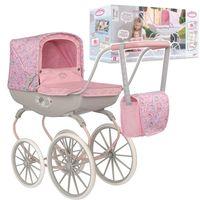 BABY ANNABELL Wózek dla lalek Retro z torbą