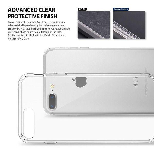 Etui Ringke Fusion iPhone 7 Plus / 8 Plus czarne zdjęcie 2