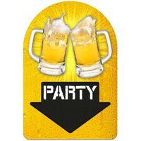 TABLICZKA BEER PARTY oktoberfest piwo PIWNE party