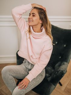 Bluza Judite Różowa-S
