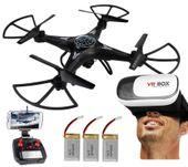 DRON TD06 z Kamerą WiFi+Okulary3D 3Aku x1000mAh 6Axis-Gyro Z282G zdjęcie 13