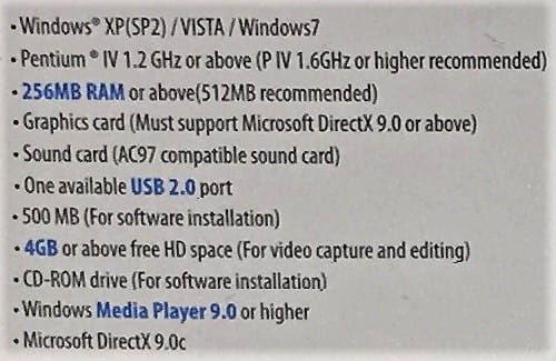 Video-Grabber USB przechwytywanie video Cabletech URZ0192 zdjęcie 6