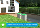 Przydomowa oczyszczalnia ścieków VH6 LIGHT 2-6 osób + studnia chłonna zdjęcie 6
