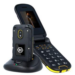 MYPHONE HAMMER BOW+ klapka ODPORNY IP68 LATARKA