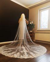 welon ślubny długi katedralny 4m biały ivory PL