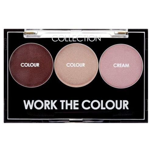Collection Work The Colour paleta 3 cieni na Arena.pl