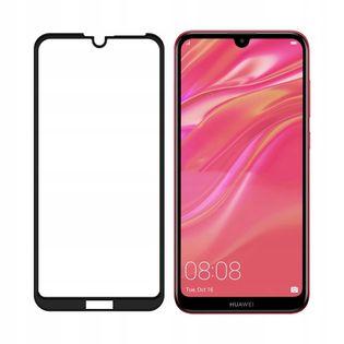 Szkło Hartowane 5D na Cały Ekran do Huawei Y7 2019
