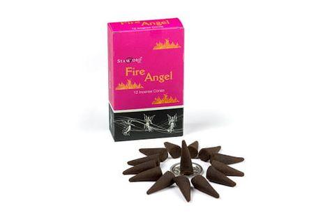Kadzidełka Stożkowe Stamford ANIOŁ OGNIA Fire Angel