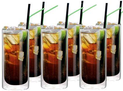 Szklanki Termiczne z Podwójną Ścianką Cuba Libre Napojów Soków Drinków
