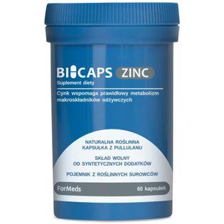 Formeds Bicaps Zinc 25 Mg  60 K Odporność