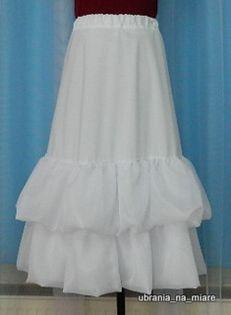Halka pod albę sukienkę komunijną