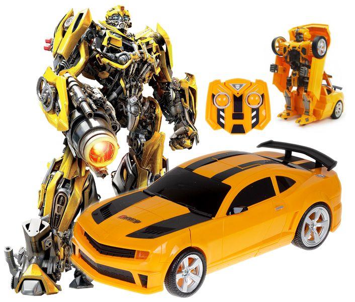 Transformer auto robot 2w1 Bumblebee zdalnie sterowany RC 2.4GHz U20 zdjęcie 12