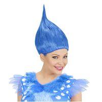 PERUKA niebieska TROLLS troll trola POPPY trolle