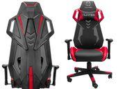 Fotel gamingowy dla gracza HUNTER V-Race czerwony
