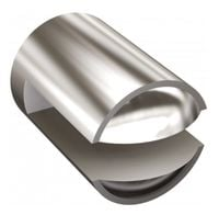 Uchwyt do półki 6 mm chrom CLASSIC Andex