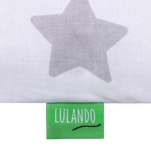 Lulando Mata na przewijak, Szary-Biały w Szare Gwiazdki, 75x75 cm zdjęcie 4