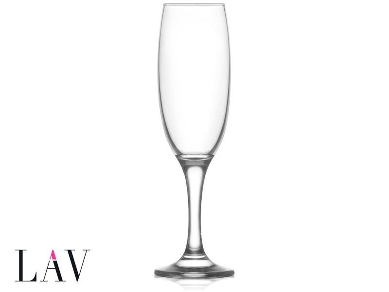 6 kieliszków do szampana 220 ml EMPIRE LAV na Arena.pl