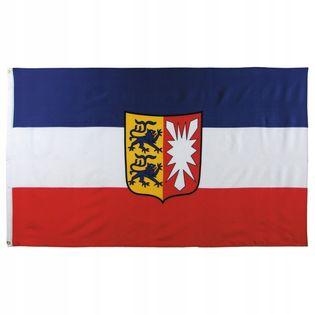 Flaga na maszt 90 x 150 cm Szlezwik-Holsztyn