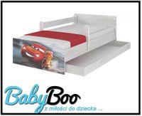 Łóżko dziecięce MAX BABY BOO 160x80 szuflada barierki Disney WZORY