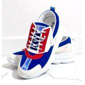 Białe sneakersy sportowe damskie W-3112 r.41 zdjęcie 5