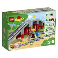 LEGO DUPLO - Tory kolejowe i wiadukt 10872