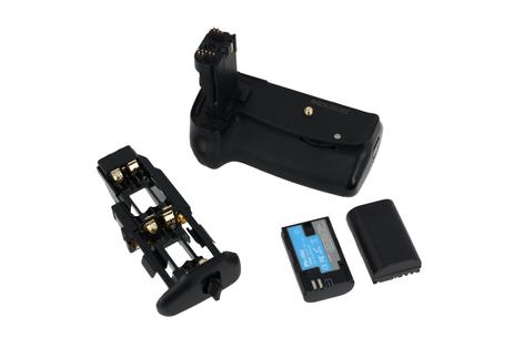 Grip Phottix BG-60D Premium Series z dwiema bateriami gratis