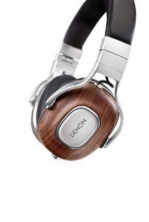 Denon AH-MM400 Music Maniac drewno skóra audiofilskie referencyjne przewodowe