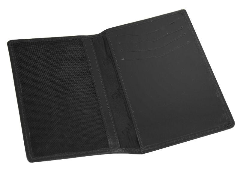 d98348110ca82 Skórzany portfel męski polskiej marki Revio z wyjmowaną wkładką, czarny  zdjęcie 5