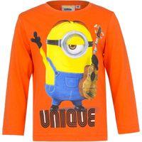 T-Shirt Bluzka Minions r128 Licencja Illumination (EP1024 Orange 8Y)