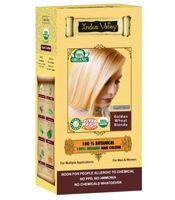 Złocisty Blond - Ziołowa farba z henną w 100% naturalna 120 g Indus Valley