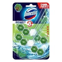 Domestos Power 5 Pine Kostka Toaletowa 2X55G