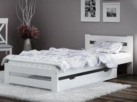 Łóżko A1 białe 90x200 Stelaż EMD