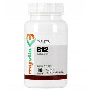 Witamina B12 100mcg 250 kapsułek MyVita