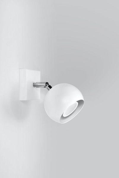 Kinkiet OCULARE Biały lampa domowa nowoczesna kuchnia salon jadalnia zdjęcie 2