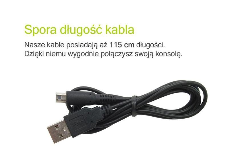 kabel USB ładowarka do Nintendo 2DS 3DS NEW 3DS XL przewód zasilanie zdjęcie 4