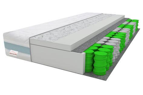 Materac 3D TORINI 160x90 KIESZENIOWY, T25 90x160 15cm