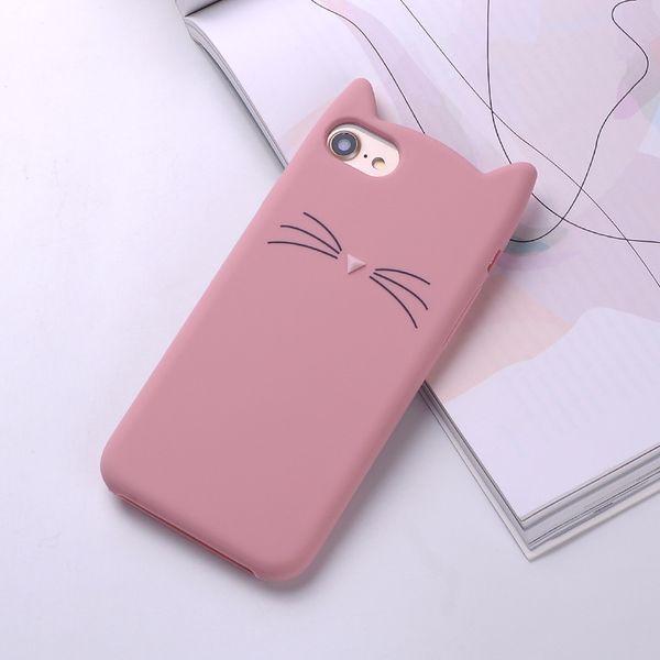 ETUI Case iPhone X Uszy Wąsy Kot zdjęcie 4