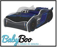 Łóżko dziecięce SAMOCHÓD 160x80 Disney auto STORM BABY BOO