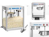 Maszyna do popcornu - stal nierdzewna Royal Catering RCPS-1350 zdjęcie 1
