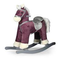 Koń na biegunach PePe Purple