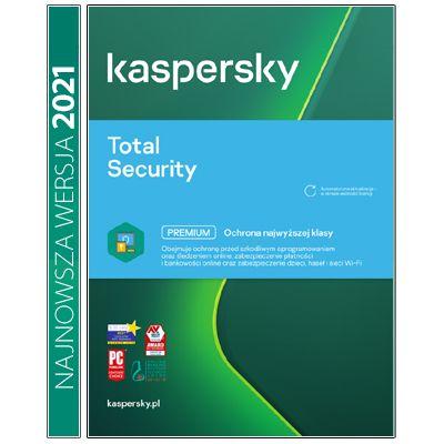 Kaspersky Total Security multi-dev 2PC/1Rok Kontynuacja na Arena.pl