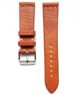 Pasek do zegarka 20mm skóra jasno brązowa kukurydza - polskie - Lamato