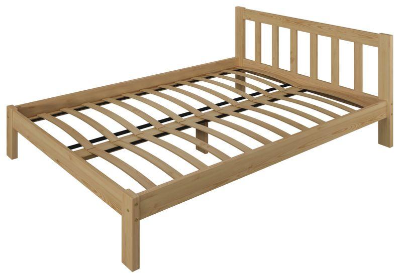 łóżko 160x200 Wysokie Ofelia Białe Szare Stelaż