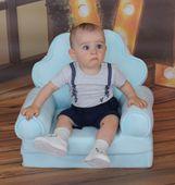 Fotelik dziecięcy pufa fotel dwa kolory zdjęcie 8