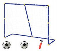Bramki 2w2 bramka do piłki nożnej 138x100 cm 20 mm