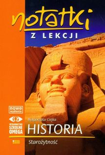 Notatki z lekcji Historia Starożytność Ciejka Małgorzata
